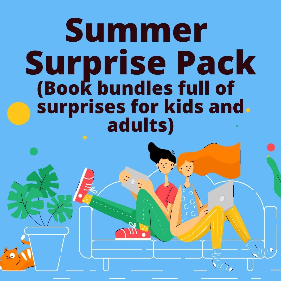 Sign up for a Summer Surprise Packs Book Bundles full of surprises for kids and adults